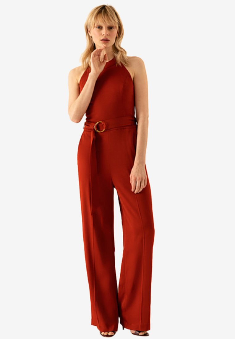 IVY & OAK - Jumpsuit - red