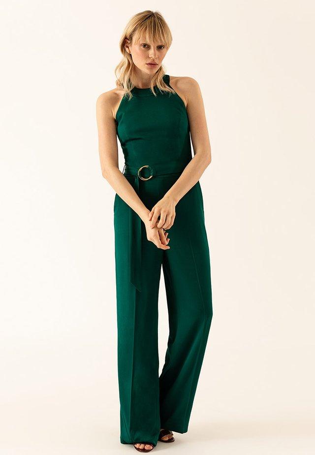 Jumpsuit - dark green