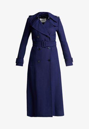 VINTAGE MAXI COAT - Trenchcoat - true blue