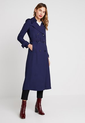 VINTAGE MAXI COAT - Gabardina - true blue