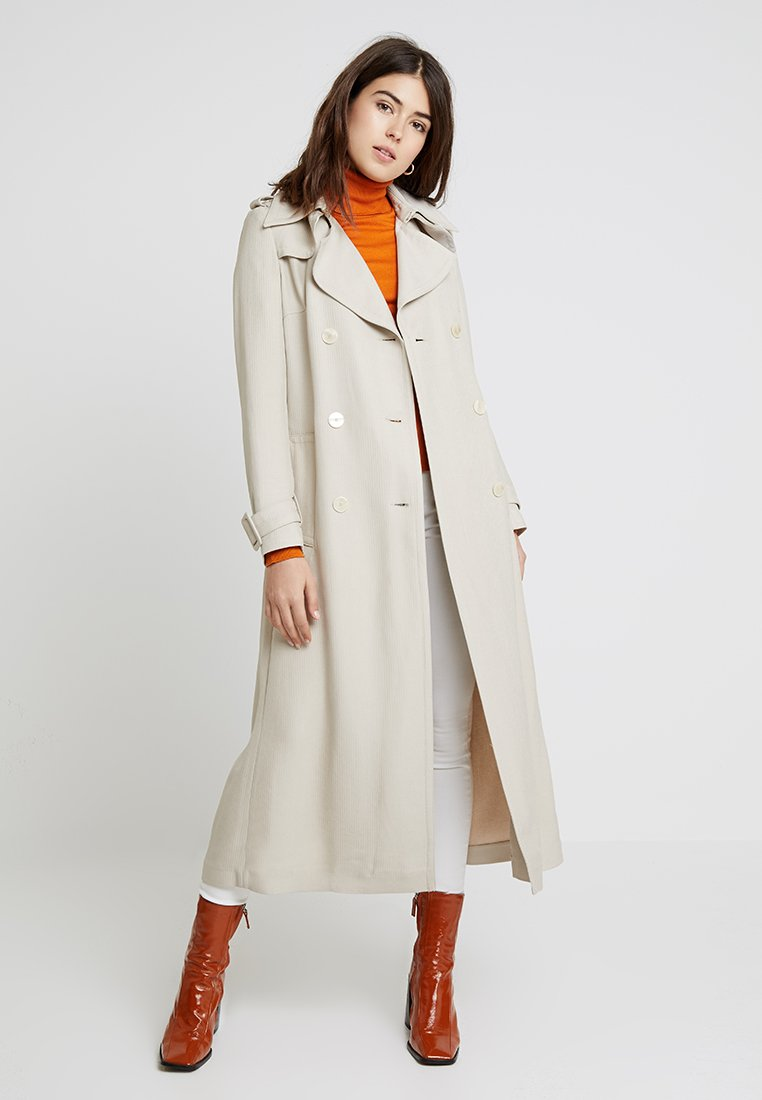 IVY & OAK - VINTAGE MAXI COAT - Trenchcoats - light caramel