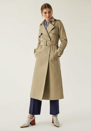 Trenchcoat - sage green