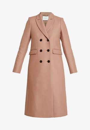CLASSIC DOUBLE BREASTED COAT - Classic coat - winter camel