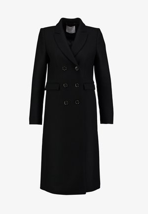 CLASSIC DOUBLE BREASTED COAT - Mantel - black