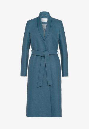 Płaszcz wełniany /Płaszcz klasyczny - smoked saphire