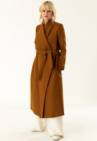 IVY & OAK - BATHROBE  - Classic coat - caramel - 0