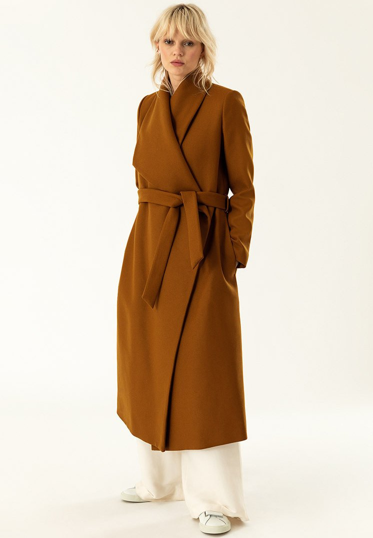 IVY & OAK - BATHROBE  - Classic coat - caramel