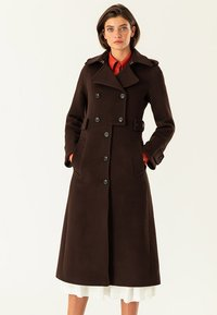 IVY & OAK - Trenchcoat - dark chocolate - 0