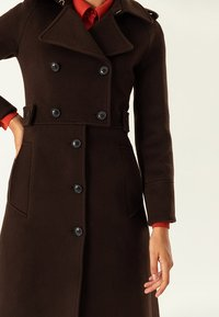 IVY & OAK - Trenchcoat - dark chocolate - 3