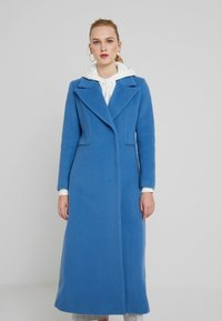 IVY & OAK - MAXI COAT - Mantel - smoked saphiere - 0