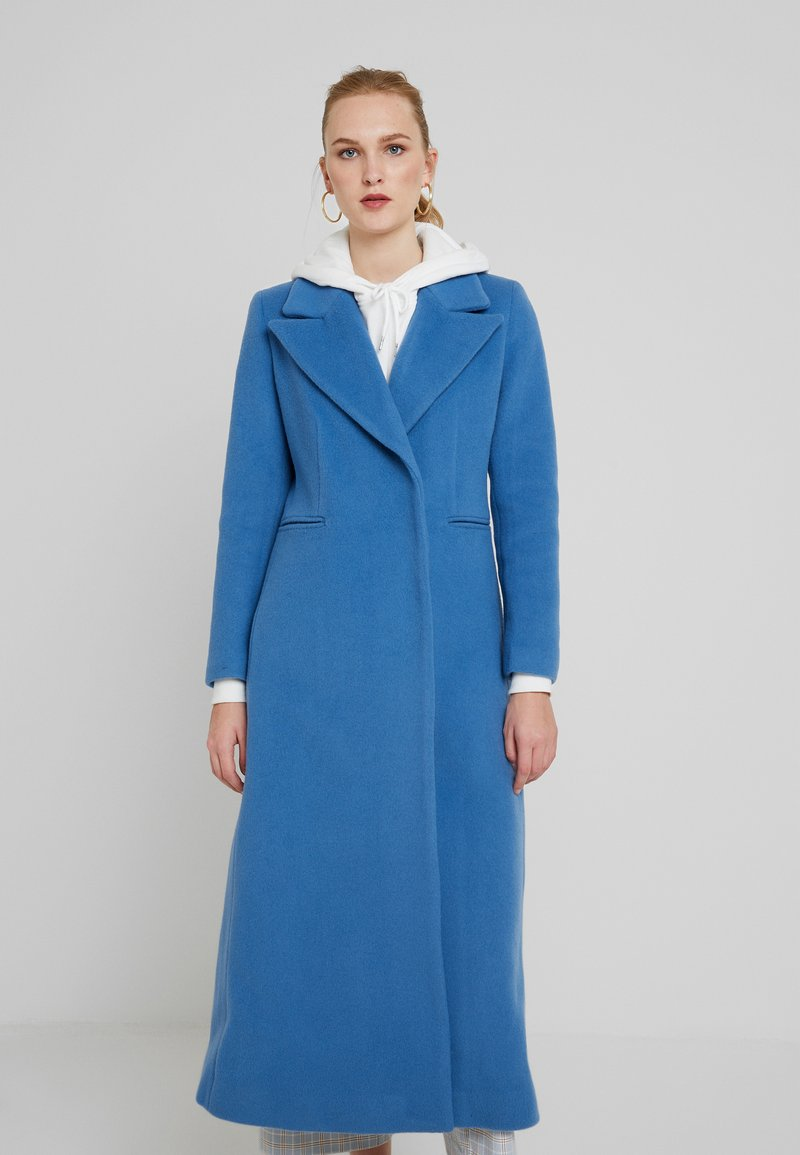 IVY & OAK - MAXI COAT - Mantel - smoked saphiere