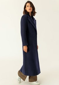 IVY & OAK - MAXI COAT - Płaszcz wełniany /Płaszcz klasyczny - navy blue - 3
