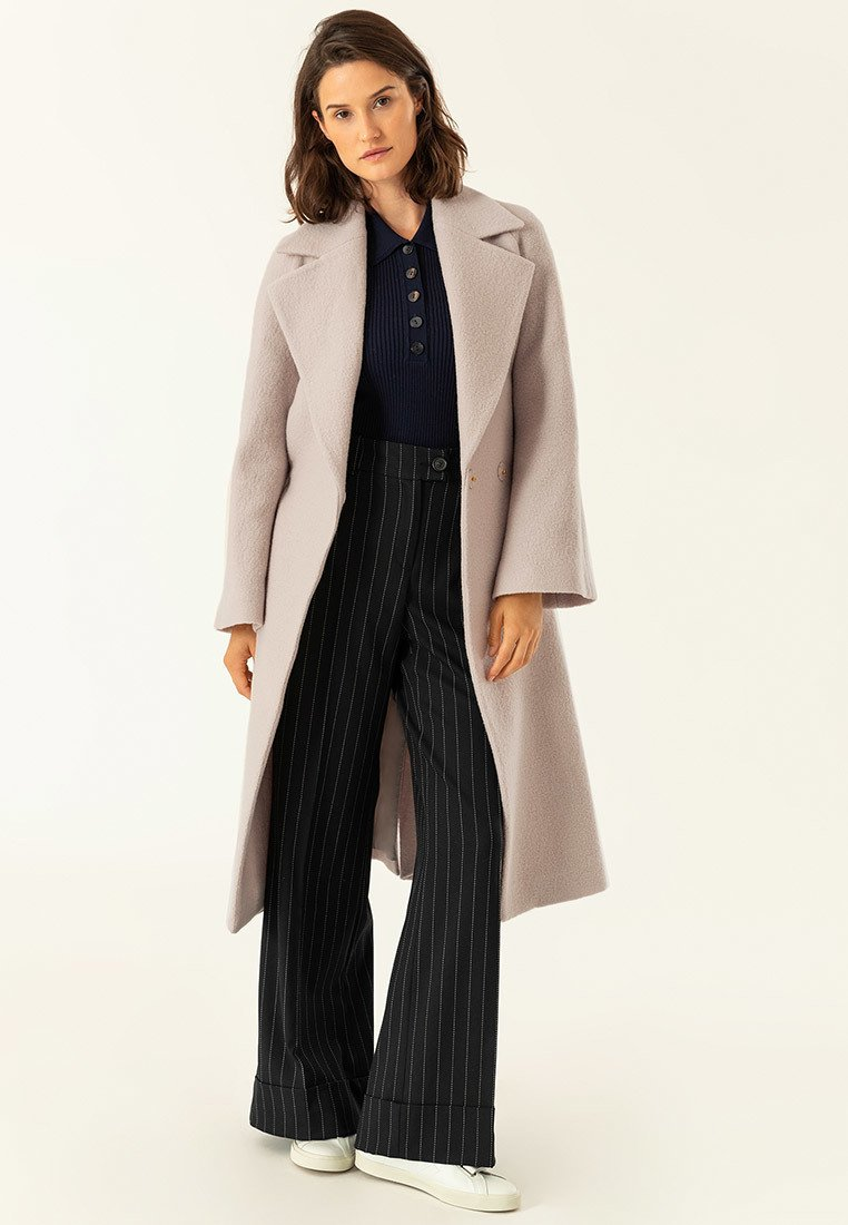 IVY & OAK - BIG BELT COAT - Classic coat - birch