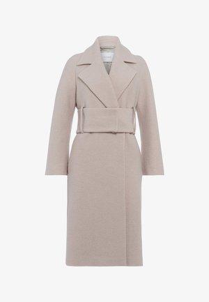 BIG BELT COAT - Classic coat - birch