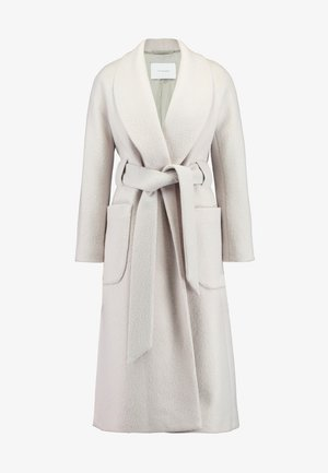 COSY BATHROBE COAT - Classic coat - birch