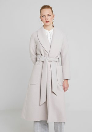 COSY BATHROBE COAT - Abrigo - birch