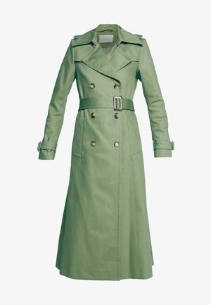 VINTAGE - Trenchcoat - sage green