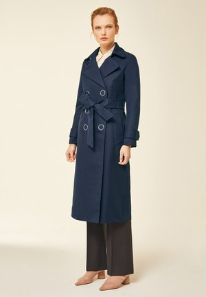 IVY & OAK - Trenchcoat - navy blue