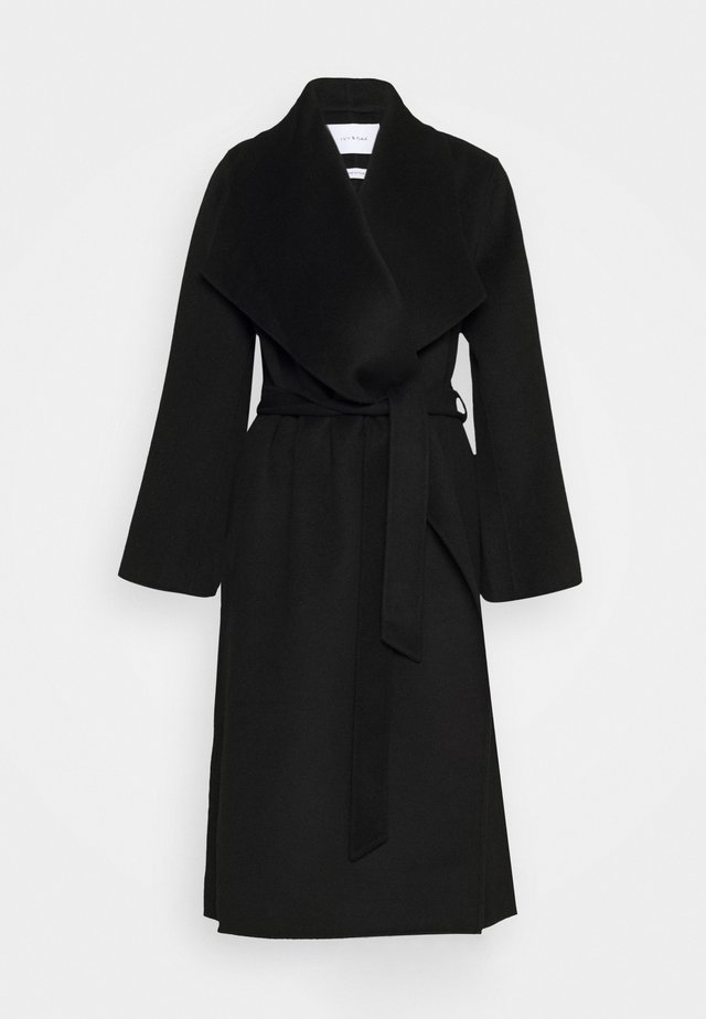 BATHROBE COAT - Kappa / rock - black
