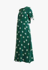 IVY & OAK - MATERNITY BOW SLEEVE DRESS - Maxi dress - eden green - 4