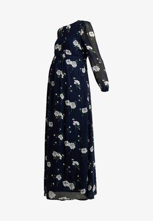 MATERNITY DRESS - Maxi dress - navy blue