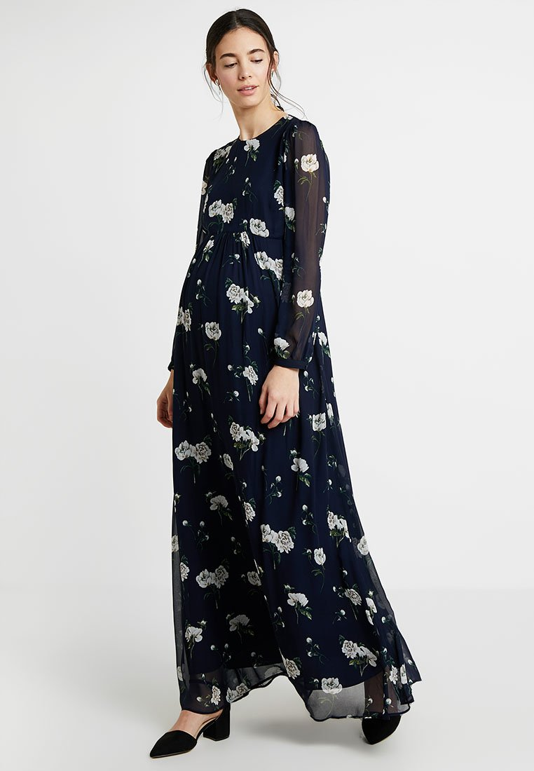 IVY & OAK - MATERNITY DRESS - Maxi dress - navy blue