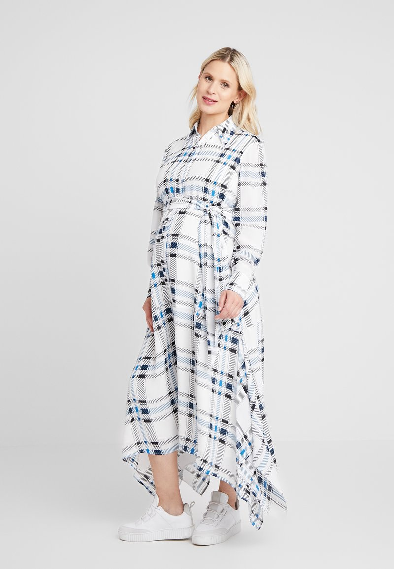 IVY & OAK Maternity - MATERNITY DRESS - Shirt dress - snow white