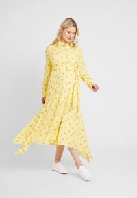 IVY & OAK Maternity - MATERNITY DRESS - Skjortekjole - sunshine - 0