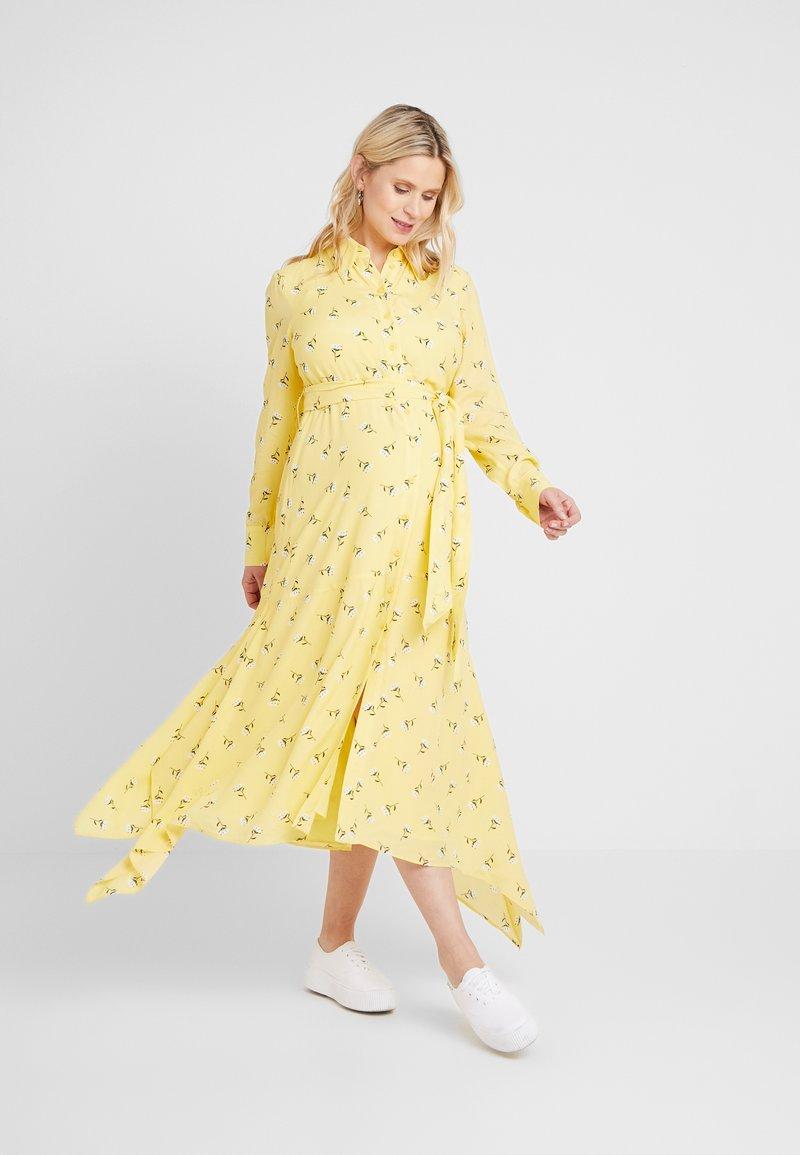 IVY & OAK Maternity - MATERNITY DRESS - Skjortekjole - sunshine