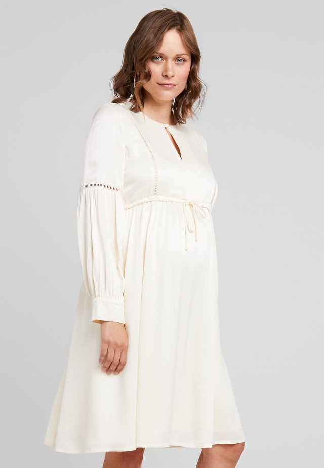 TUNIC DRESS - Day dress - porcelain white
