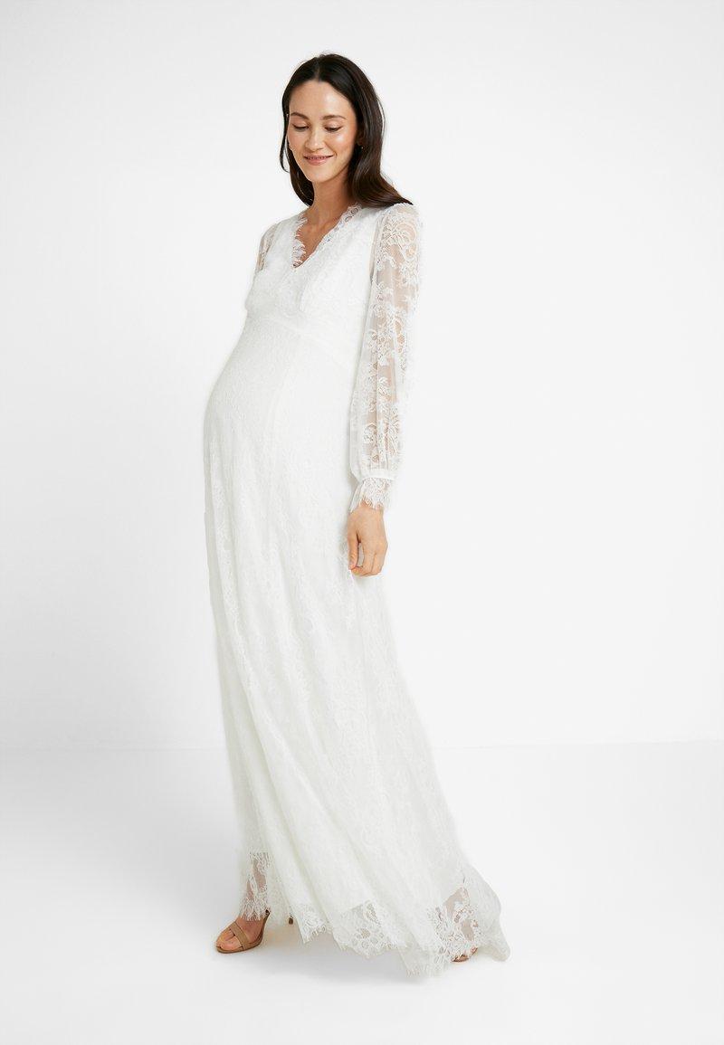 IVY & OAK Maternity - BRIDAL MATERNITY DRESS LONG - Iltapuku - snow white