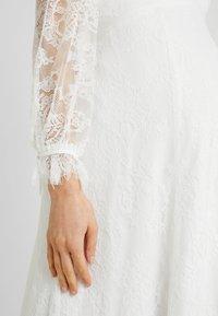 IVY & OAK Maternity - BRIDAL MATERNITY DRESS LONG - Iltapuku - snow white - 5