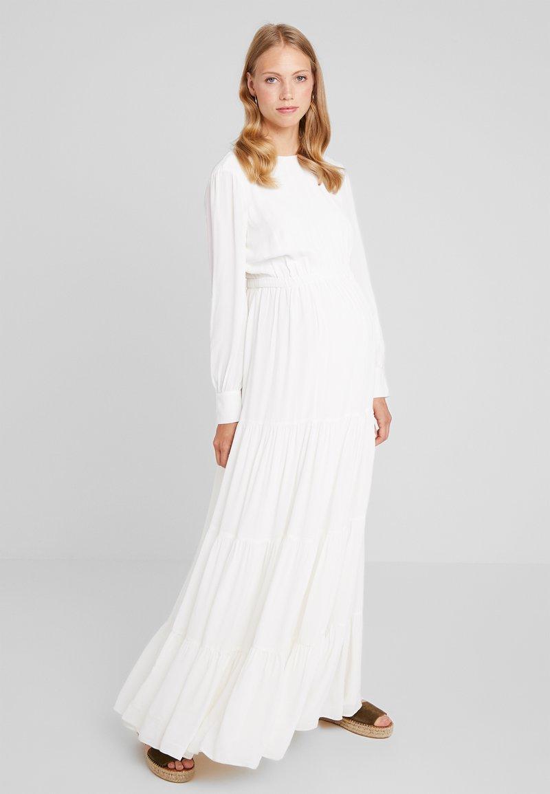 IVY & OAK Maternity - BRIDAL MATERNITY DRESS MAXI - Maxikjoler - snow white