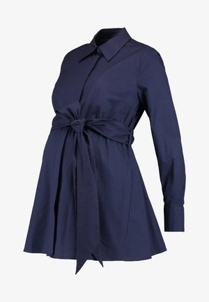 MATERNITY FLARED - Button-down blouse - winter true blue