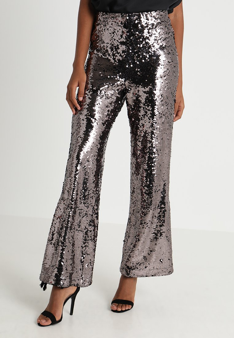 Ivyrevel - ALYO PANTS - Trousers - dark silver