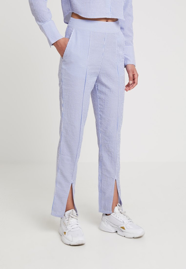 Ivyrevel - TAPERED PANTS - Stoffhose - blue