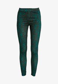 Ivyrevel - SLIM FIT PANTS - Pantalones - green snake - 3