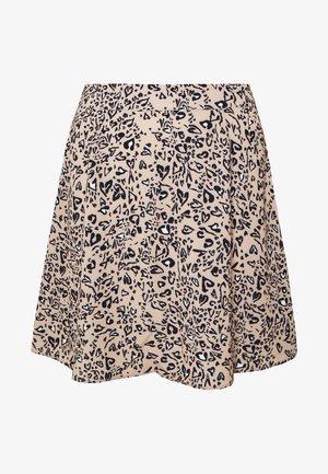 A-LINE MINI SKIRT - A-snit nederdel/ A-formede nederdele - black