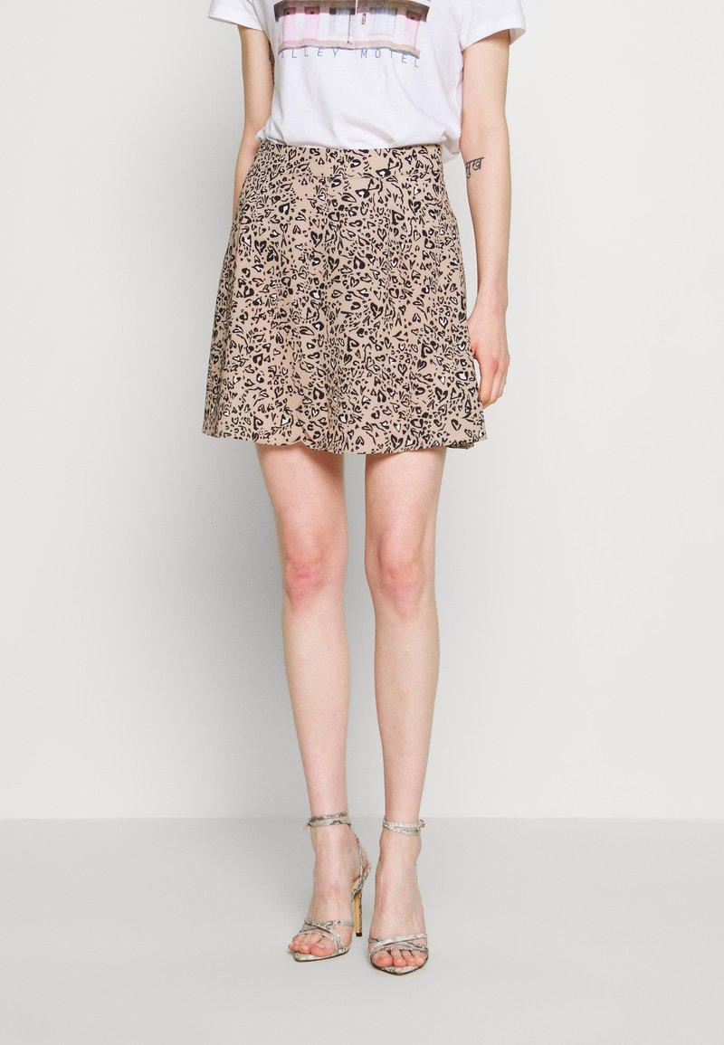 Ivyrevel - A-LINE MINI SKIRT - A-line skirt - black