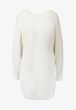 MARION DRESS - Vestido de punto - off white