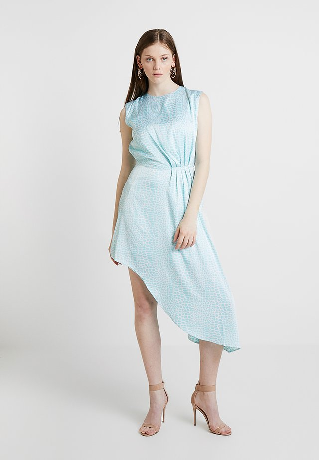 ASYMMETRIC DRESS - Denní šaty - light blue