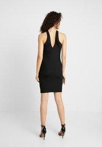 Ivyrevel - CROSS FRONT DRESS - Kjole - black - 3