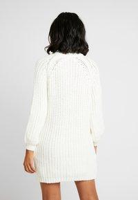 Ivyrevel - OVERSIZED DRESS - Pletené šaty - off white - 3