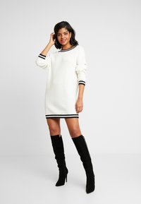 Ivyrevel - DRESS - Jumper dress - white/black - 2