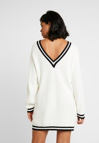 Ivyrevel - DRESS - Jumper dress - white/black
