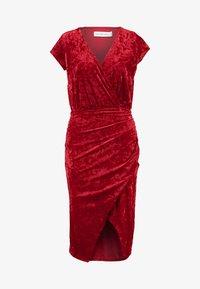 Ivyrevel - FRONT WRAP DRESS - Sukienka koktajlowa - red - 5