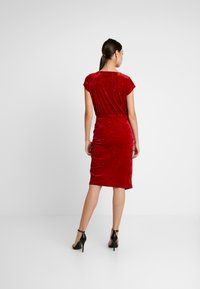 Ivyrevel - FRONT WRAP DRESS - Sukienka koktajlowa - red - 3