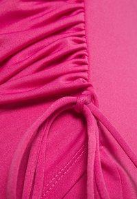 Ivyrevel - SIDE DRAPE DRESS - Vardagsklänning - pink - 2