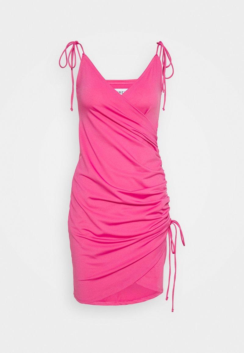 Ivyrevel - SIDE DRAPE DRESS - Vardagsklänning - pink