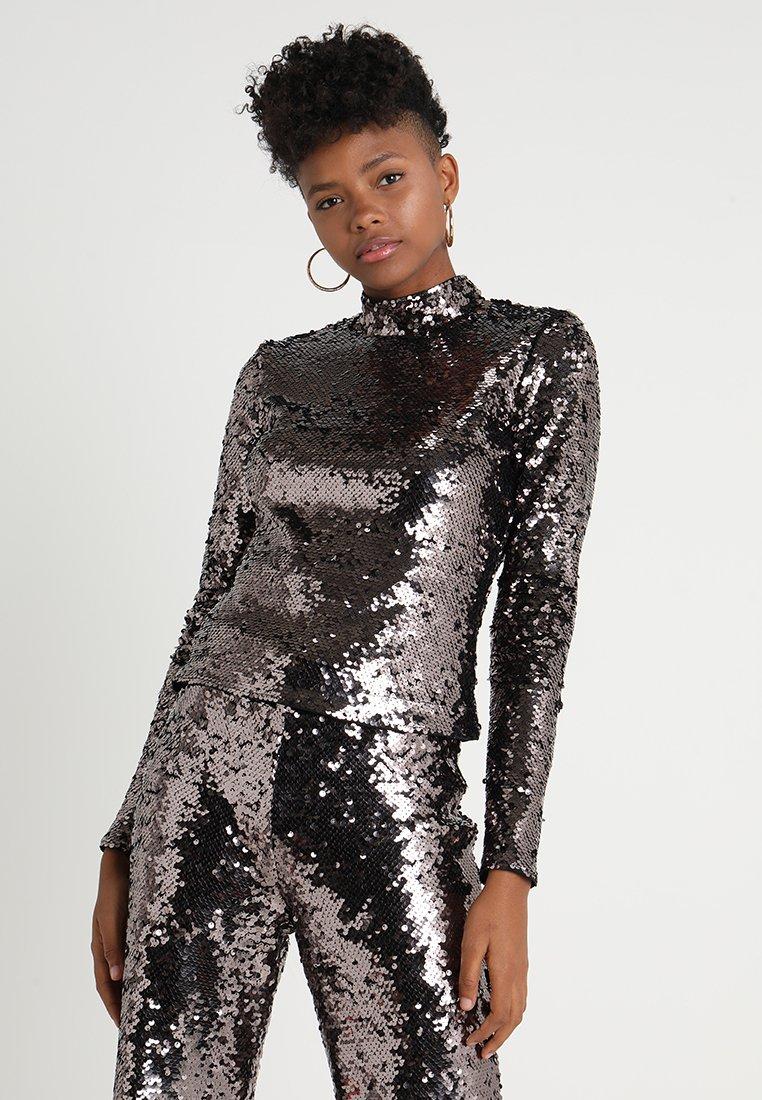 Ivyrevel - LIZA - Long sleeved top - dark silver